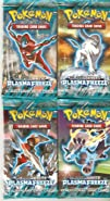4 Four Packs of Pokemon Trading Card Game Black   White