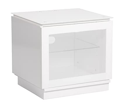 MMT Casino White Gloss TV stand cabinet for up to 32 inch screens - FREE DELIVERY by MMT Furniture Designs