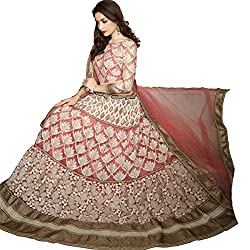 Aasvaa Beautiful Women's Lehenga cholis ( Baby Pink )