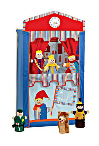 Roba 6972 Puppet Theatre with 6 puppets