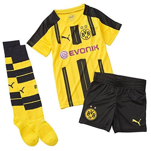 puma-bvb-home-tenue-officielle-pour-enfant-avec-logo-et-sponsor-6-ans-cyber-yellow-black