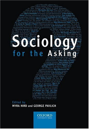 Sociology for the Asking: An Introduction to Sociology for New Zealand
