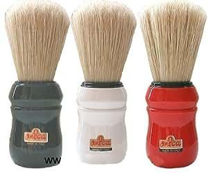White Handled Omega Professional Boar Hair Shaving Brush