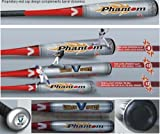 Brand NEW 2014 Phantom Little League Youth Baseball Bat 30 Inch 18 oz (-12) made from VX99 Ultra Strength Alloy by Vikram Sports at Factory Direct Price