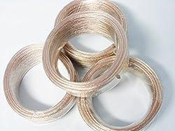 18 Gauge 100 Feet (25 Foot Spools) Spool of OFC Speaker Wire