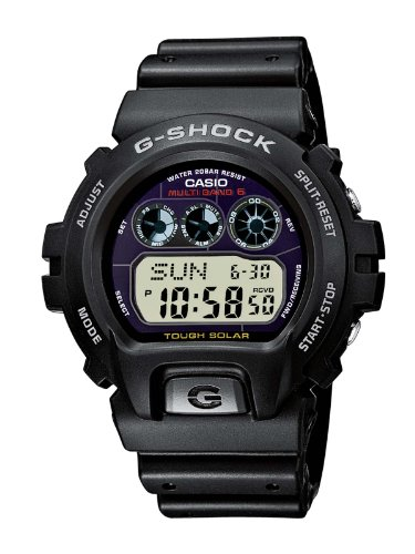 Casio GW-6900-1ER Men's G-Shock Radio-controlled Digital Resin Strap Watch