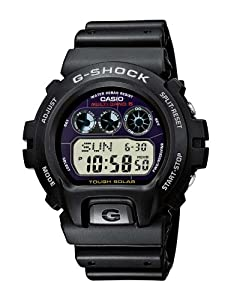 Casio GW-6900-1ER Men's G-Shock Radio-controlled Digital Resin Strap Watch