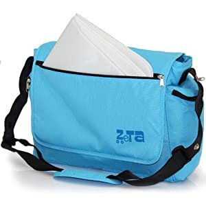 Zeta Luxury Changing Bag Complete with Changing Mat (Large, Ocean Blue) from Zeta