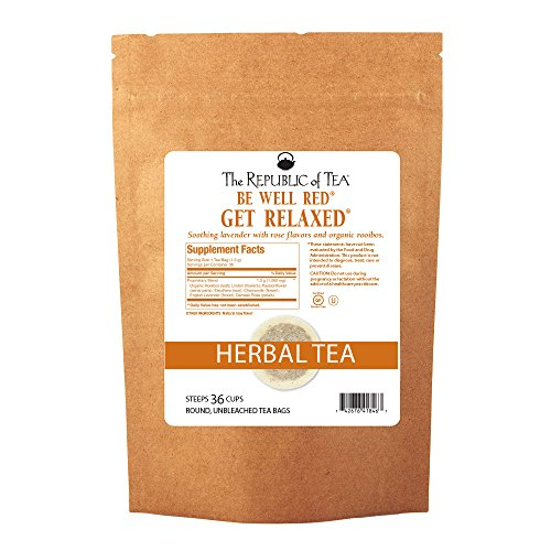 The Republic Of Tea Get Relaxed - No.14 Tea For Relieving Stress, 250 Tea Bags