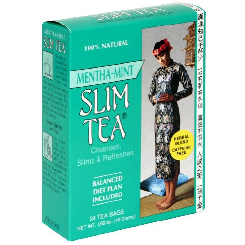 Slim Tea Mint 24 Bags Review