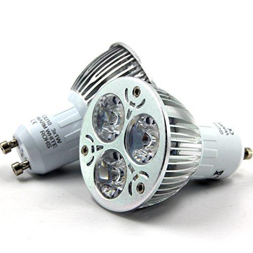 OUBO E14 E27 GU10 MR16 3W 4W 5W 7W LED Lampe Bulb Strahler Spot Kerze Leuchtmittel Glühbirne Birne Warmweiß Kaltweiß Top-Qualität (3W GU10 Warmweiß)