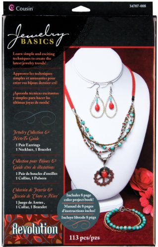 Cousin 34707008 Revolution Peace Pendant Beading Jewelry Collection Kit