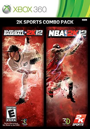 2K Sports MLB 2K12 / NBA 2K12 Combo Pack X360