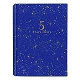 アーティミス 日記帳 5年連用 星座 青 DP5-SE NV