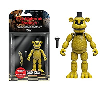 Funko Five Nights At Freddys Articulated Golden Freddy Action Figure 5 from Funko