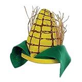 Beistle Plush Corn Cob Hat, Multicolor
