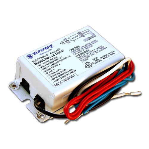 Sunpark Lc12013T-1 Electronic Ballast For One F32T8 Or F28W 2D Lamp