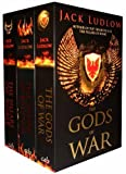 Jack Ludlow Jack Ludlow Collection 3 Books Set Pack Republic Trilogy (The Gods of War, The Pillars of Rome, The Sword of Revenge) (Jack Ludlow Collection)