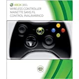 Xbox 360 Black Wireless Controller Play and Charge Kit