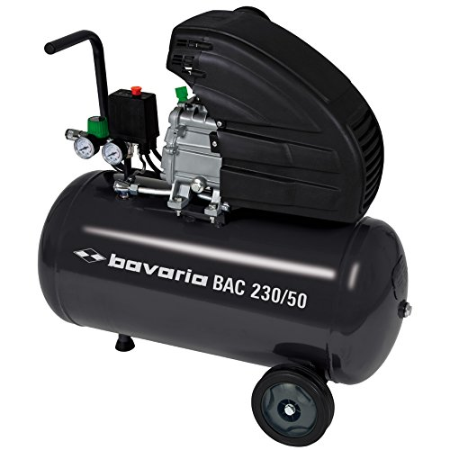 bavaria bac 230 50 kompressor 1600 w 50 liter ansaugleistung 230 l min 1 zylinder bavaria. Black Bedroom Furniture Sets. Home Design Ideas