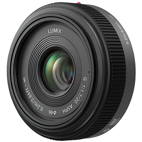 Panasonic LUMIX G 20mm f 1.7 Aspherical Pancake Lens for Micro Four Thirds Interchangeable Lens Cameras