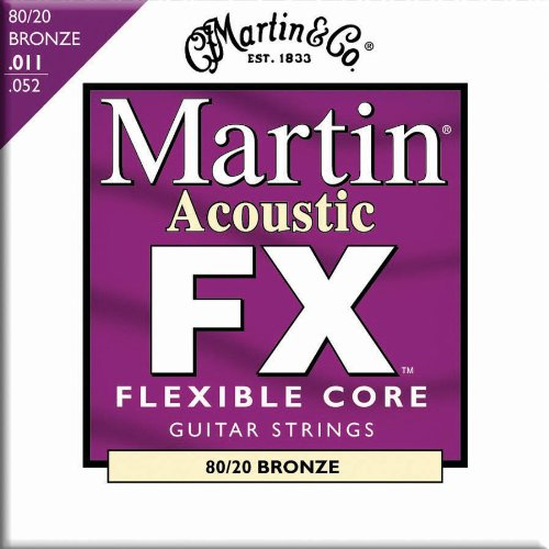 Martin FX675 Custom Light 80/20 Bronze Acoustic Guitar Strings (Cf Martin Strings compare prices)