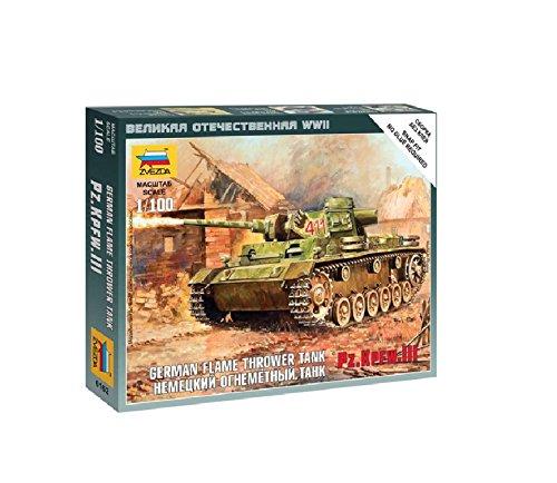 Zvezda Models 1/100 Sd.Kfz.251/1 Ausf.B