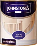 Johnstones No Ordinary Paint One Coat Non Drip Oil Based Gloss Dark Sky 750ml