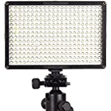 PIXEL 308PCS LED Video Light Dimmable Ultra High Power Panel Digital Camera / Camcorder Video Light, LED Light...