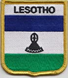 Lesotho Flag Embroidered Patch Badge