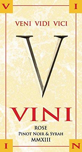 Vini Rose 2013 (Pinot Noir & Syrah Blend)
