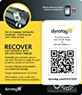 Dynotag® Web/GPS Enabled QR Smart Luggage Tag Set - 2 Unique Tags with Chains