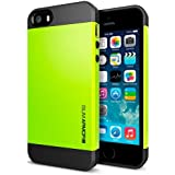 Spigen iPhone 5S/5 Case Slim Armor S Lime SGP10367