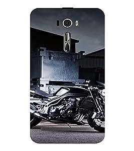 PrintVisa Sports Bike Design 3D Hard Polycarbonate Designer Back Case Cover for Asus Zenfone 2 Laser ZE601KL