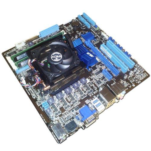 AMD FX-8350 Vishera 8 Core 4.0GHz - Asus M5A78L-M USB3 HDMI Motherboard - 4GB DDR3 RAM Bundle