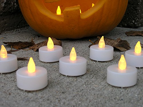 Flameless Candles -- Led White Tea Lights -- Set Of 48 -- Battery Operated Candles -- Flameless Candle Set -- Tealights For Wedding Decorations, Parties, Home Decor, Centerpieces Safe And Worry Free -- Batteries Included