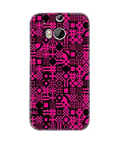 PickPattern Back Cover for HTC One (M8)