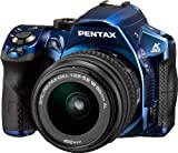 Pentax K-30 Weather-Sealed 16 MP CMOS Digital SLR with 18-55mm Lens (Blue)