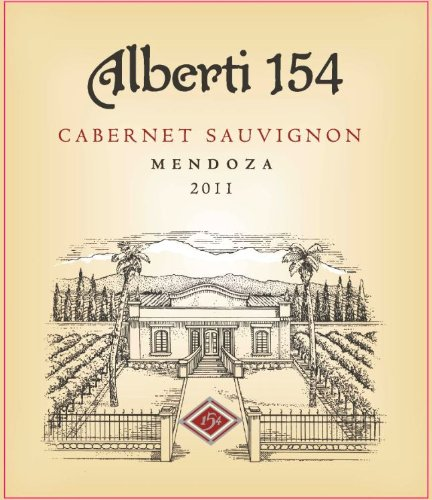 2011 Alberti 154 Cabernet Sauvignon, Mendoza 750 Ml