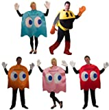 Pac-Man Deluxe Group Costume Set Of 5