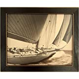 Sepia Sailing Vintage Sail Boat Sail Boat Art Picture