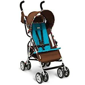 Lamaze LS 50 Lightweight Stroller - Brown/Teal