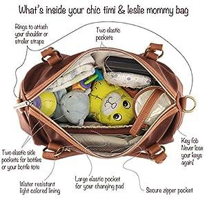 timi & leslie Madison 7-piece Diaper Bag Set from timi & leslie