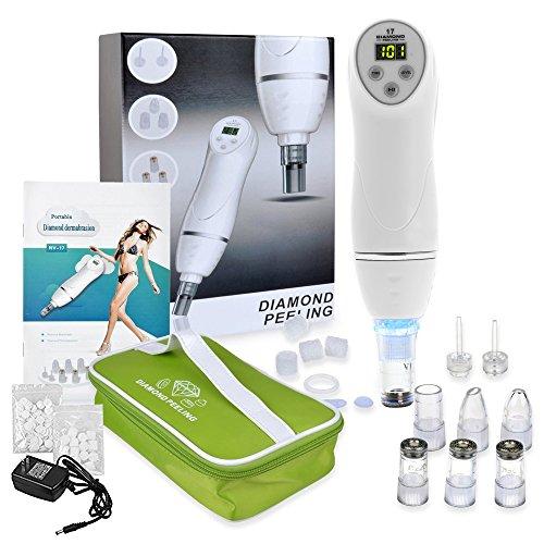 Digital Microdermabrasion, Portable Digital Diamond Dermabrasion Pen Vacuum Skin Peeling Beauty Equipment (Skin Vacuum compare prices)