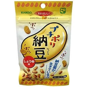 カンロ プチポリ納豆 しょうゆ味 20g×6袋