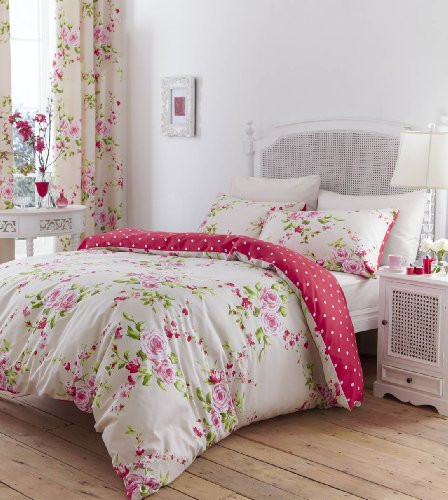 Shabby Chic Pink Bedding 5937 back