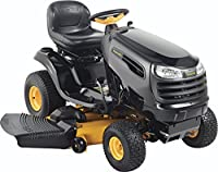 Poulan Pro 960420174 PB24VA54 Kohler V-Twin 24 HP Pedal Control Fast Auto Drive Cutting Deck Riding Mower, 54-Inch from Husqvarna Wheeled