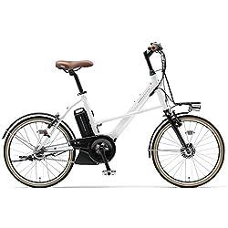 YAMAHA(ヤマハ) PAS CITY-X 電動自転車 20インチ 2015年モデル [新ドライブユニット、8.7Ahリチウムイオン電池、トリプルセンサーシステム] クリスタルホワイト PA20CX