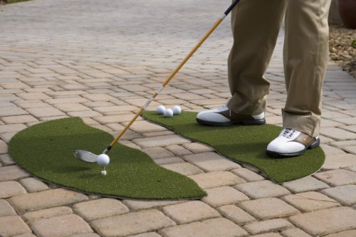 Putt-A-Bout Chipping and Driving Mat (2-Piece), 3 x 4-Feet