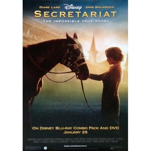 amazoncom secretariat movie poster 27quot x 40quot approx
